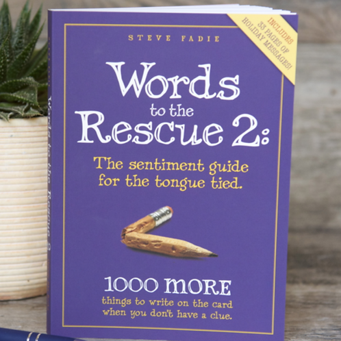 """""""Words to the Rescue 2: The sentiment guide for the tongue tied"""""""