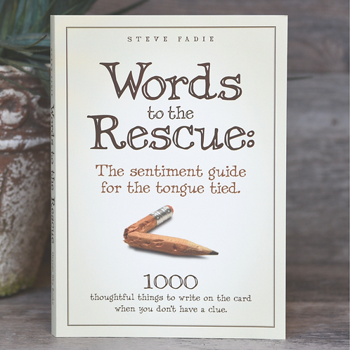 """Words to the Rescue: The sentiment guide for the tongue tied"""