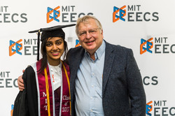 Commencement reception in 2017
