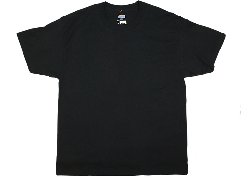 Men's SHR Car Logo Black T-Shirt