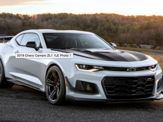2018 Chevy Camaro ZL1 1LE: One To Rule Them All