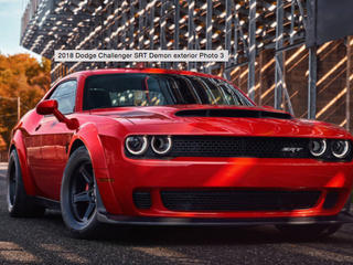 Dodge Challenger SRT Demon Is Here!