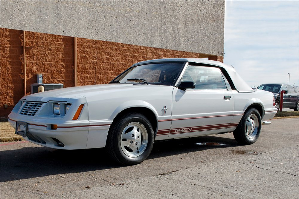 1984 Ford Mustang GT-350