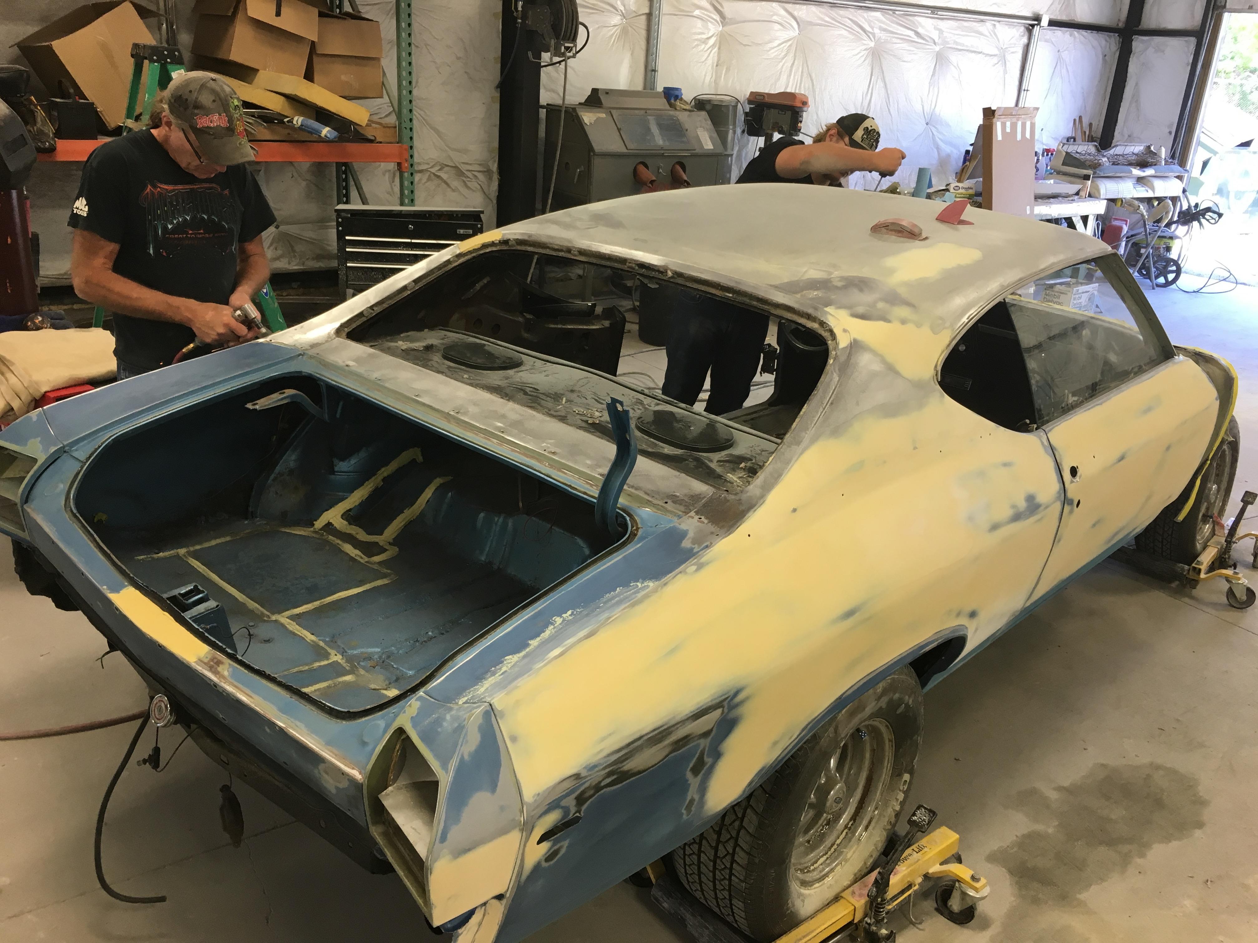 muscle car restoration steps