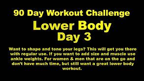New YouTube icon for Lower Body day  3.j