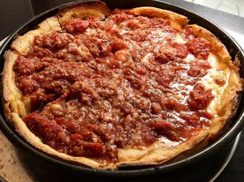 Studio Hotrods Roadhouse Deep Dish Pizza