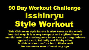YouTube icon for Isshinryu Style Workout