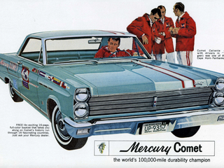 1964: 3 Mercury Comets Survive Drive From Argentina to Alaska