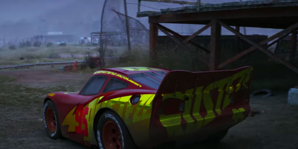Cars 3 McQueen Ghost Track