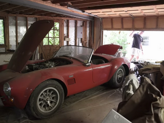 Here's What It's Like to Find $8 Million Worth of Cars in a Random Garage