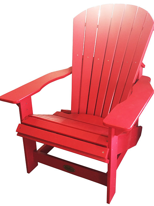 Adirondack Red Chair