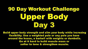 New YouTube icon for Upper Body day 3 .j