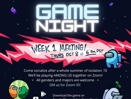 Among Us! Game Night Fall 2020