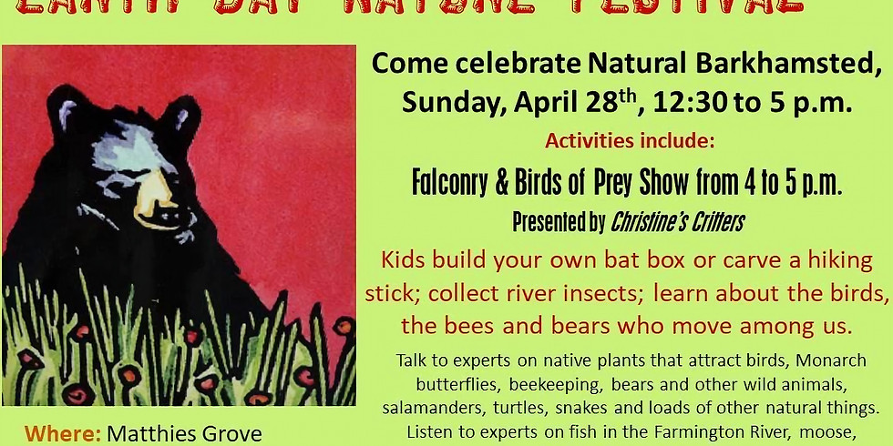 6th Annual Barkhamsted Earth Day Nature Festival