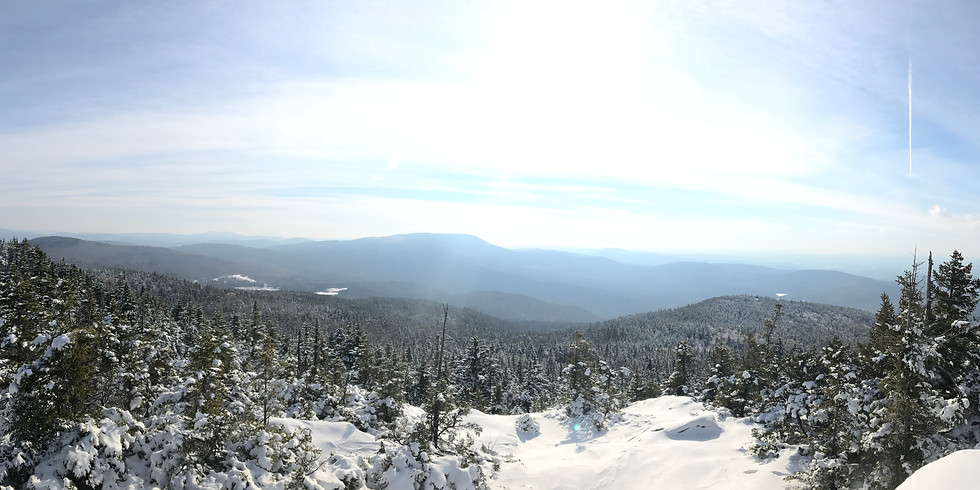 White Mountains Winter Backpacking Adventure: Mount Cube