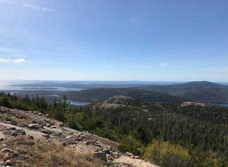Peak Bagger's Delight: Hiking In One of The Quieter Parts of Acadia National Park