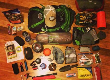 A 3-Season Weekend Trip Backpacking Checklist