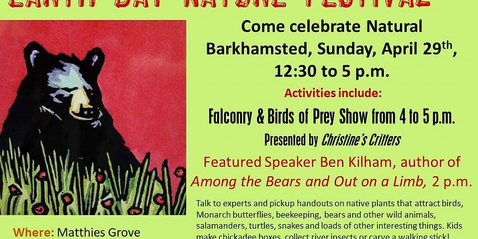 5th Annual Barkhamsted Earth Day Nature Festival