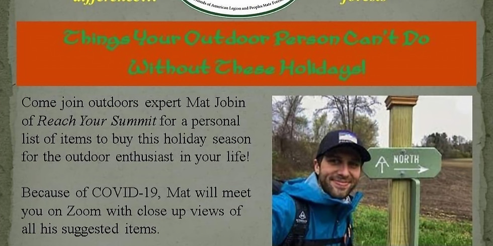 Cold Weather Hiking & Holiday Gift Guide Webinar