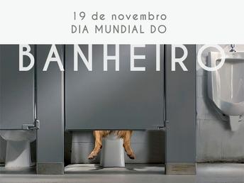 19 de novembro - Dia mundial do banheiro
