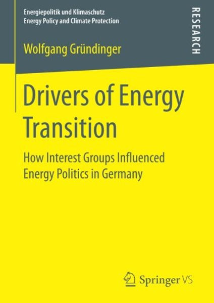 Drivers of Energy Transition - Buch-Cover