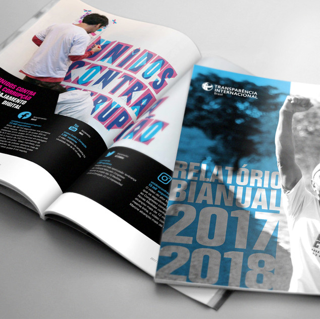 Relatório Bianual 2017-2018 | Transparência Internacional