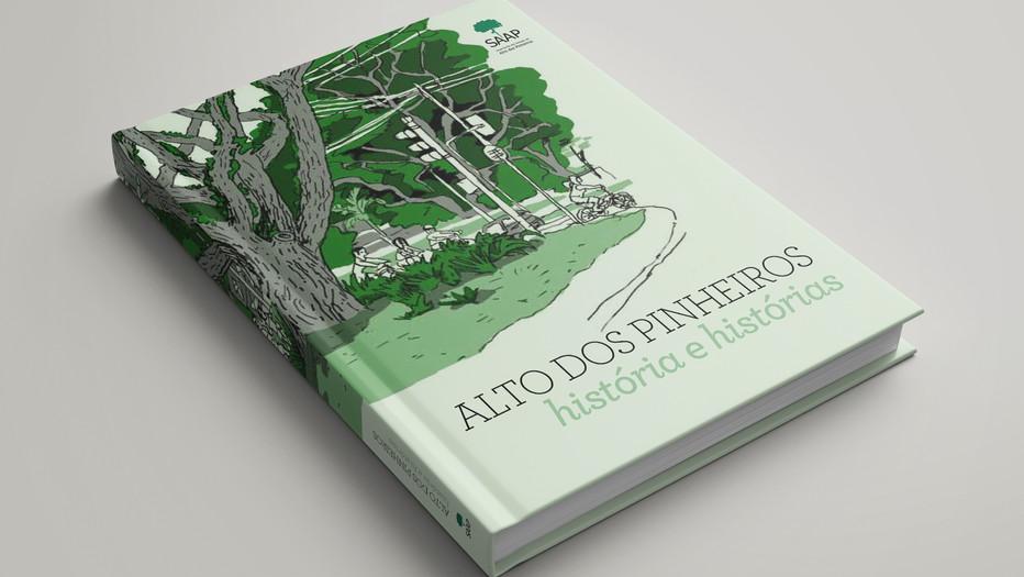 Livro Alto dos  Pinheiros