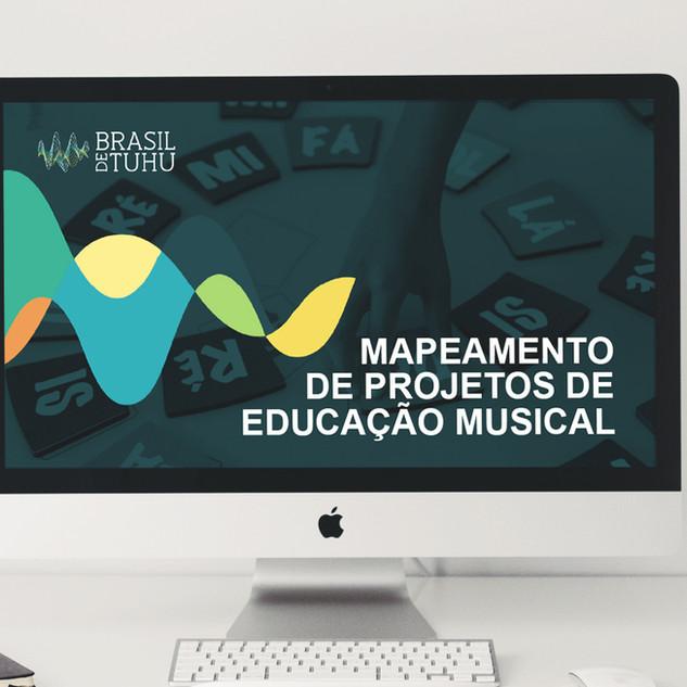 Mapeamento de Projetos de Educação Musical | Brasil de Tuhu