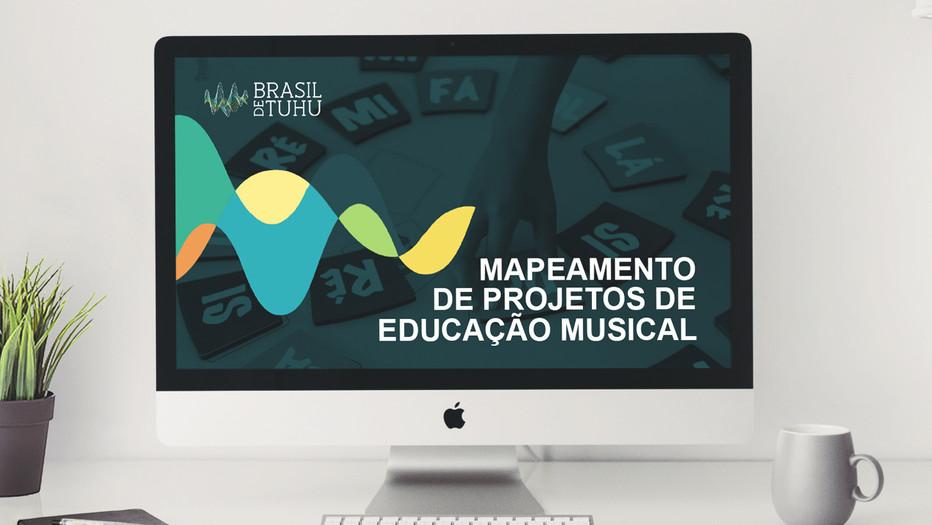 Mapeamento de projetos de educação musical