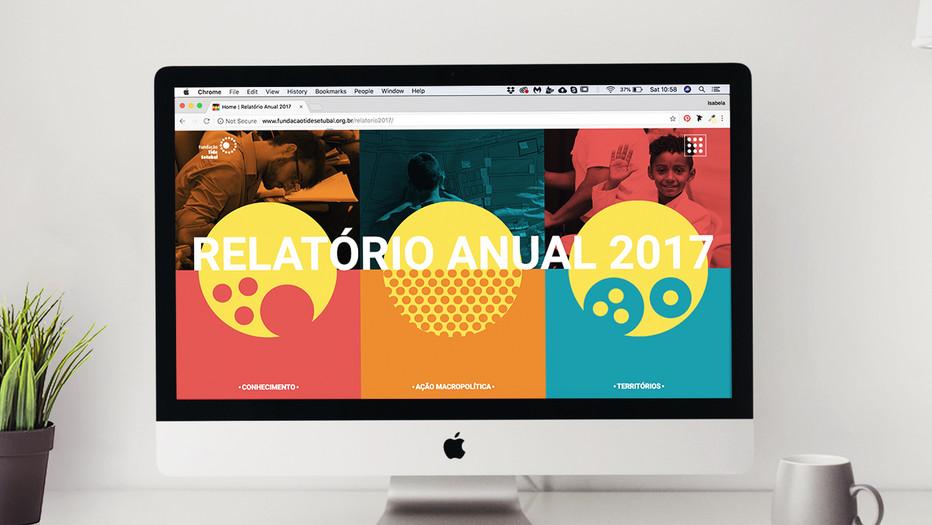 Relatório anual 2017 - Fundação Tide Setubal