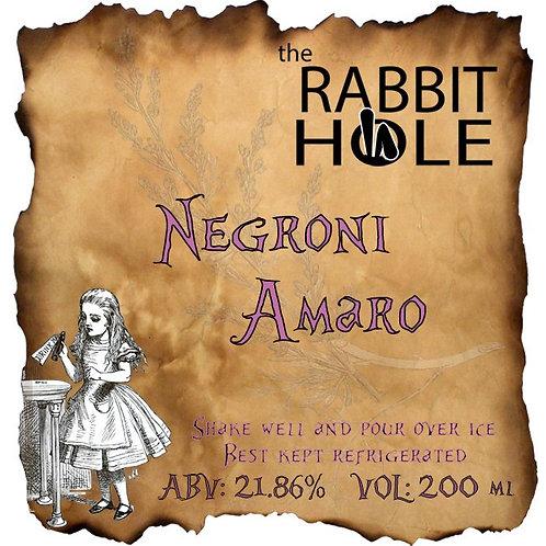 Negroni Amaro - נגרוני אמרו
