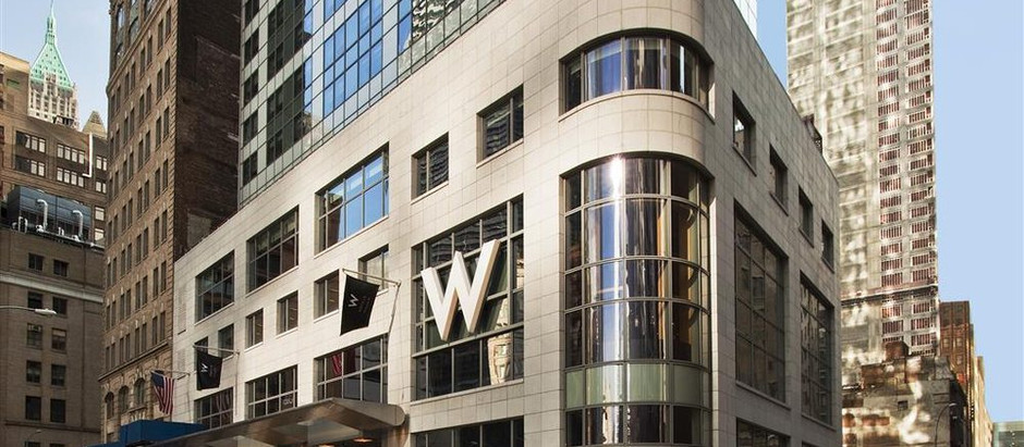 W Downtown Hotel & Residences,  123 Washington St., New York