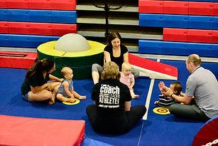 Babynastics class