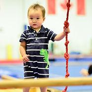 Babynastics baby athlete