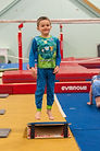 Boy Athlete for Family Fun Class