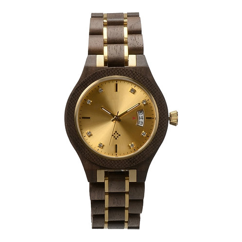 New EcVendor Wood Stainless Steel Watch woodwatch minimal style
