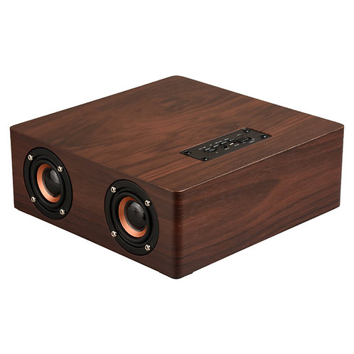 HiFi Multifunction Bluetooth4.2 Wooden 4 Speaker Subwoofer Support AUX TF Card