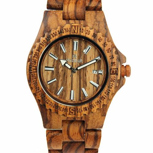 Wholesale 10pcs of Men Fashion Casual Wood Quartz Full Natural Wood watch