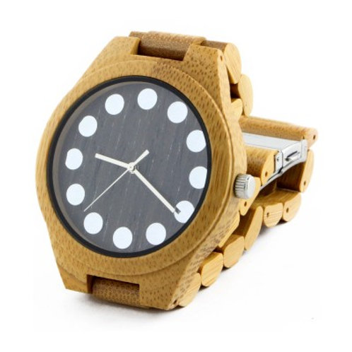 New style Wood watch bamboo watch for men