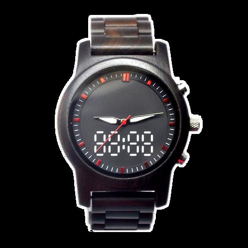 New Digital Quartz EcVendor Wood Wristwatch Wood Men Watch