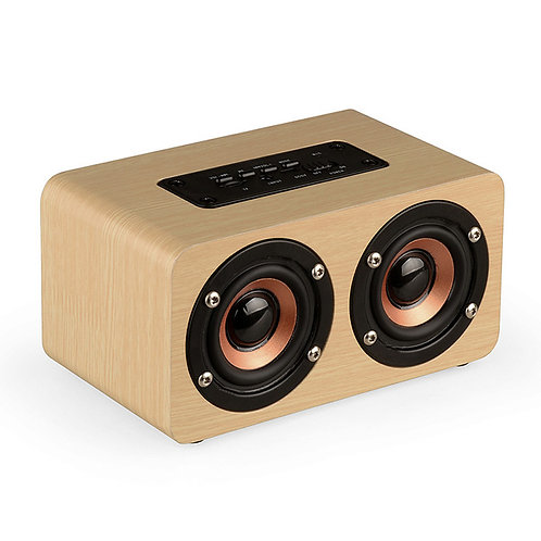 Mini Portable Wireless Computer Wood Speaker for Phone