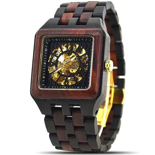 Men's Watches Sandalwood Luxury Wooden Mechanical Watch