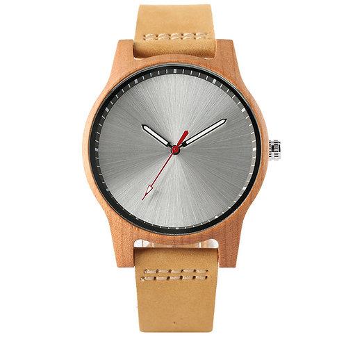Minimal Style Wood Watch Women Quartz Wrist Watches from EcVendor
