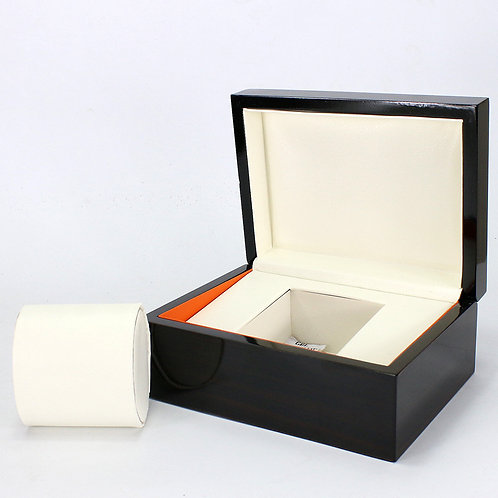Black Wood Style Box Holder reloj relogio woodgrained box Jewelry Display