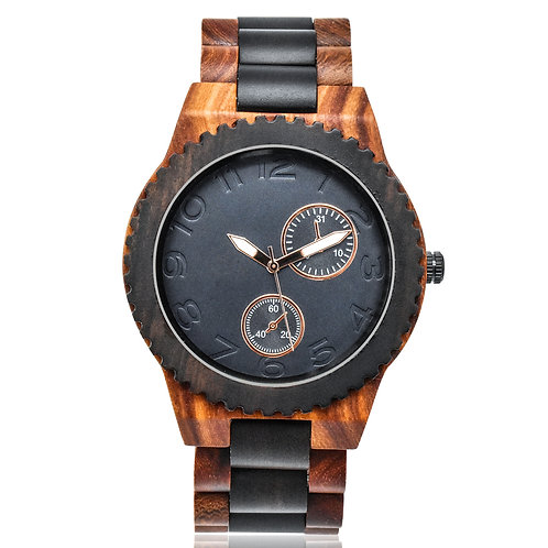 Natural Wood New Minimal Style Wood Wristwatch from EcVendor