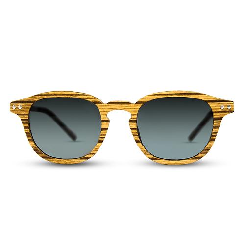 zebra Wood New Wood Eyewear Wooden Sunglass from EcVendor