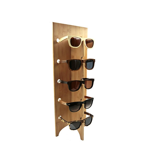 New Glasses Display Vintage Bamboo Holder Sunglasses Frame Holder Wood