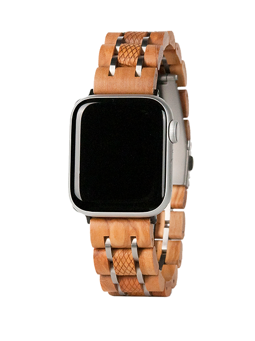 New EcVendor Olivewood Apple Band with Steel