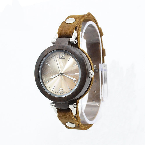 New lady small face Classic Watch 100% Handicrafted Natural W