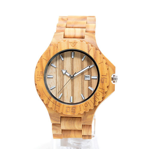 New Olivewood Watch Men Wristwatch from EcVendor